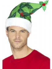 Holly Berry Santa Hat